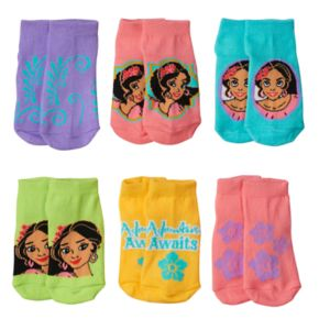 Disney's Elena of Avalor Toddler Girl 6-pk. Low-Cut Socks