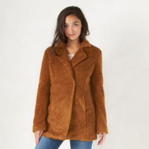 Women's LC Lauren Conrad Faux-Fur Coat