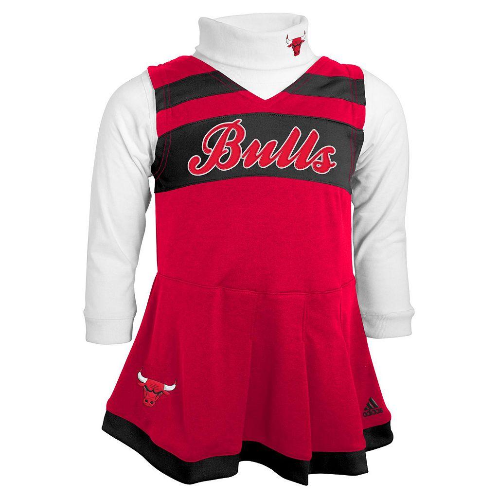 Baby adidas Chicago Bulls Cheer Jumper Dress