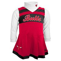 Baby adidas Chicago Bulls Cheer Jumper Dress