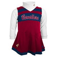 Baby adidas Cleveland Cavaliers Cheer Jumper Dress