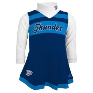 Baby adidas Oklahoma City Thunder Cheer Jumper Dress