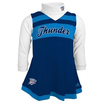 Baby adidas Oklahoma City Thunder Cheer Jumper Dress