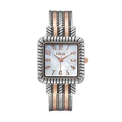 Folio Women's Square Cuff Watch
