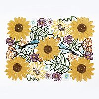 Celebrate Fall Together Floral Cut Out Placemat