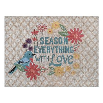 Celebrate Fall Together Bird Tapestry Placemat