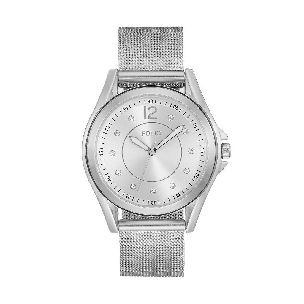 Folio Women's Mesh Watch