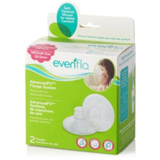 Evenflo Feeding 2-pk. Medium 28-mm AdvancedFit Flange System