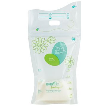 Evenflo Feeding 80-pk. Advanced Milk Storage Bags