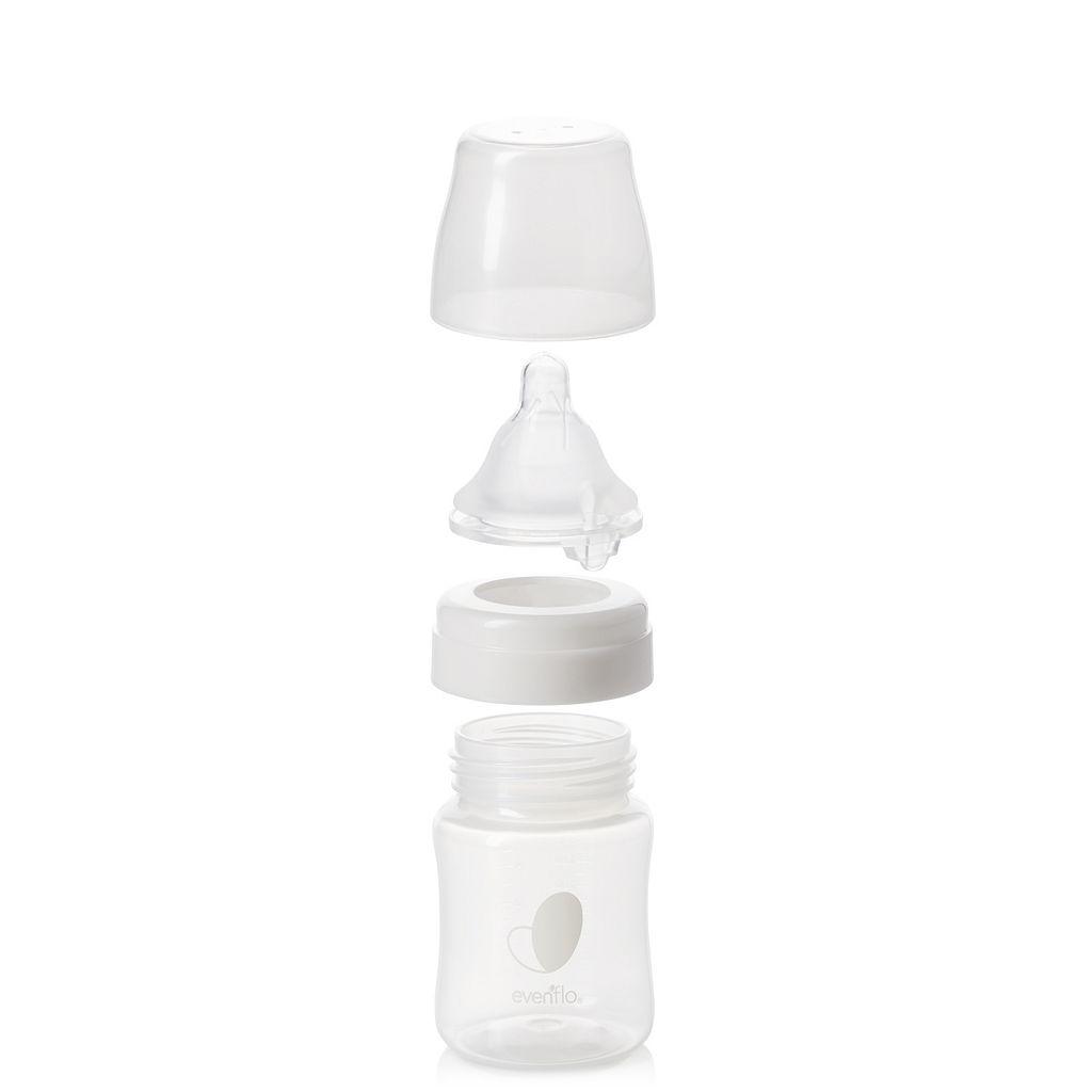 Evenflo Feeding 6-pk. 5-oz. Balance + Wide Neck Bottles