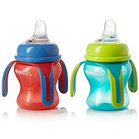 Evenflo Feeding 2-pk. Soft Flo Trainer Sippy Cups