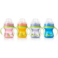 Evenflo Feeding 4-pk. Zoo Friends Trainer Sippy Cups