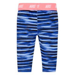 Toddler Girl Nike Dri-FIT Sport Essentials Monolith Printed Capri Leggings