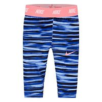 Toddler Girl Nike Dri-FIT Sport Essentials Monolith Printed Capri Leggings