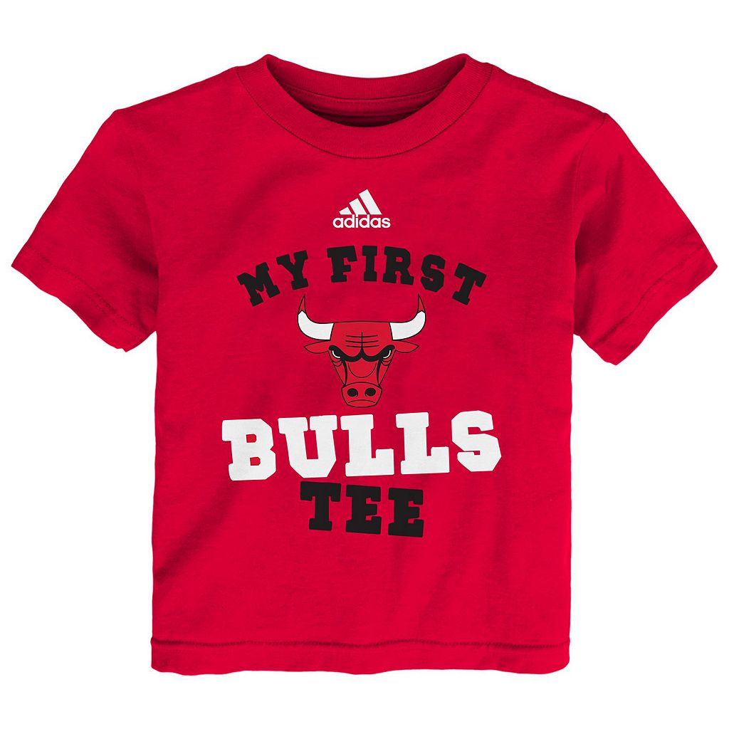 Baby adidas Chicago Bulls My First Tee