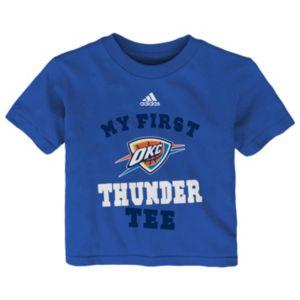 Baby adidas Oklahoma City Thunder My First Tee