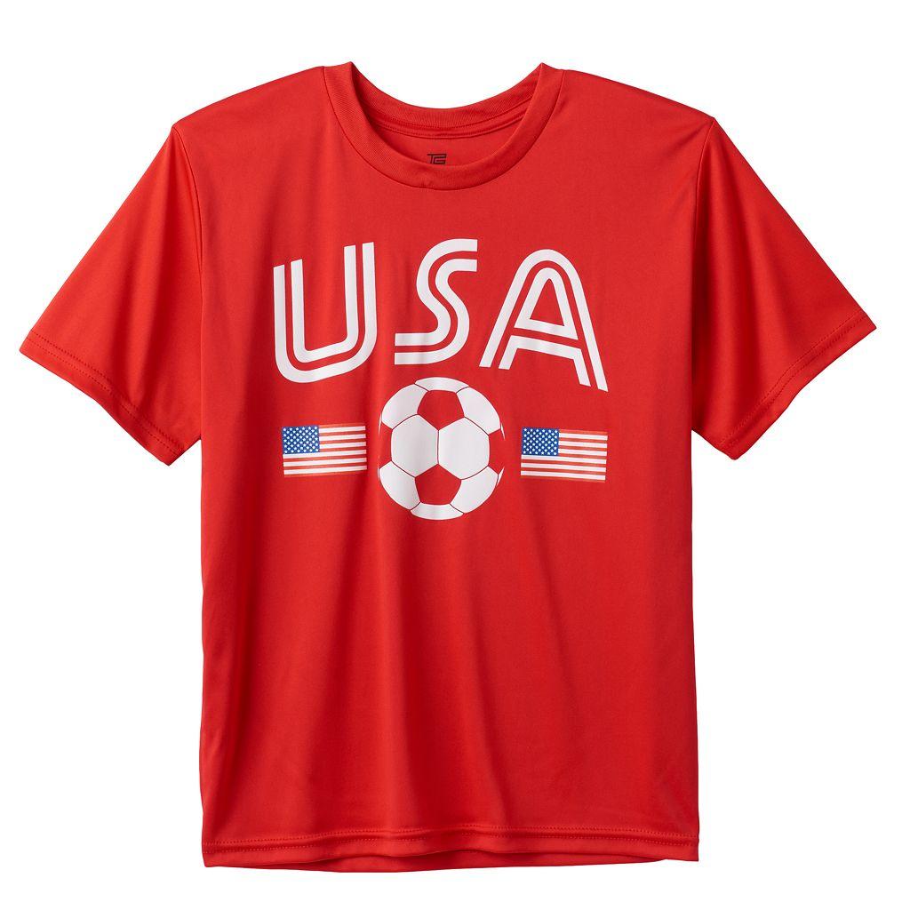 Boys 8-20 Tek Gear® USA Soccer Tee