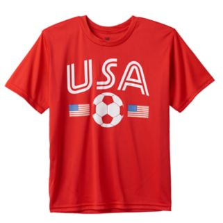 Boys 8-20 Tek Gear USA Soccer Tee