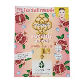 bioBELLE Beauty Secret Firming Facial Sheet Mask