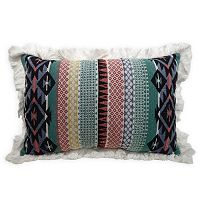 Simple By Design Tribal Oblong Throw Pillow
