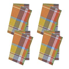 Celebrate Fall Together Plaid Napkin 4-pk.