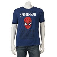 Men's Marvel Spider-Man Ringer Tee