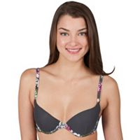 Juniors' Candie's® Bras: Lightly Lined Piped Plunge Bra