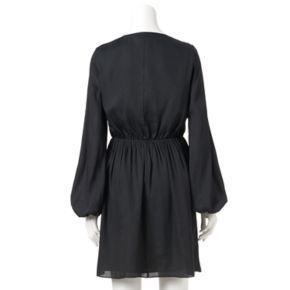 Women's Jennifer Lopez Faux-Wrap Dress