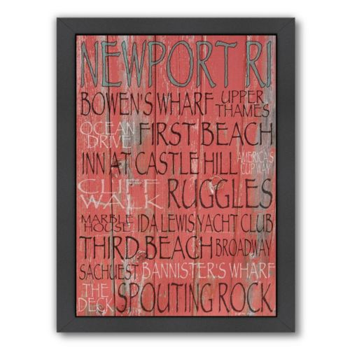 Americanflat Newport Framed ...