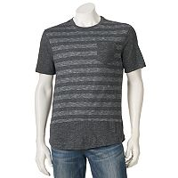 Men's Distortion Striped Tee