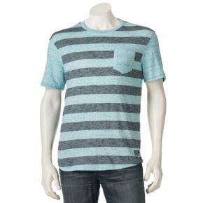 Men's Distortion Big Striped Tee