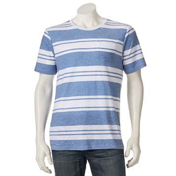 Men's Distortion Varied Striped Tee