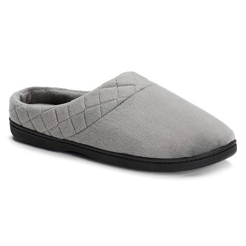 Dearfoams Women S Quilted Velour Clog Slippers