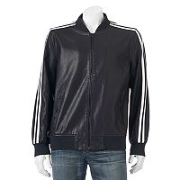 Men's XRAY Slim-Fit Faux-Leather Jacket