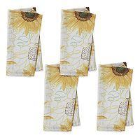 Celebrate Fall Together Sunflower Napkin 4-pk.