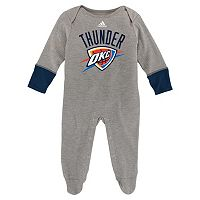 Baby adidas Oklahoma City Thunder Footed Bodysuit