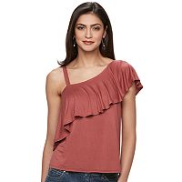 Women's Jennifer Lopez One-Shoulder Ruffle Top