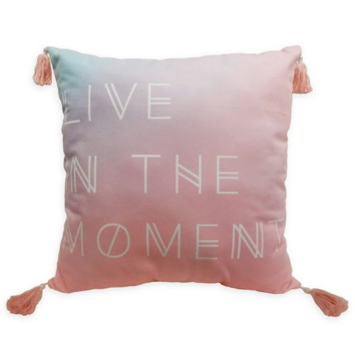 Simple By Design ''In the Moment'' Reversible Throw Pillow