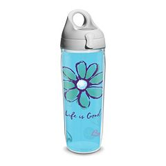 Life is Good Daisy Water Bottle by Tervis