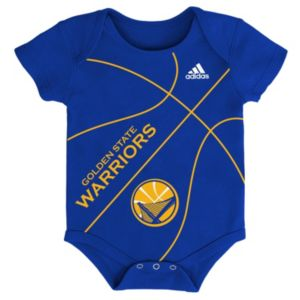 Baby adidas Golden State Warriors Fanatic Basketball Creeper