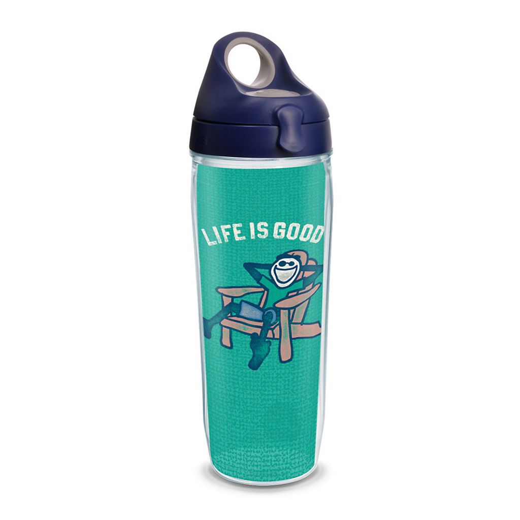 Life is Good Adirondack Chair Water Bottle by Tervis