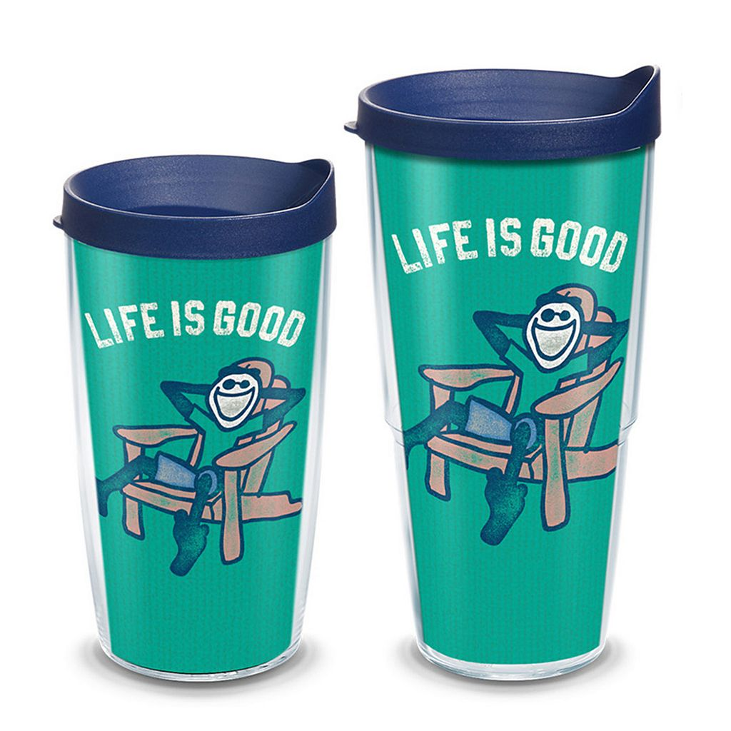 Life is Good Adirondack Chair Tumbler by Tervis