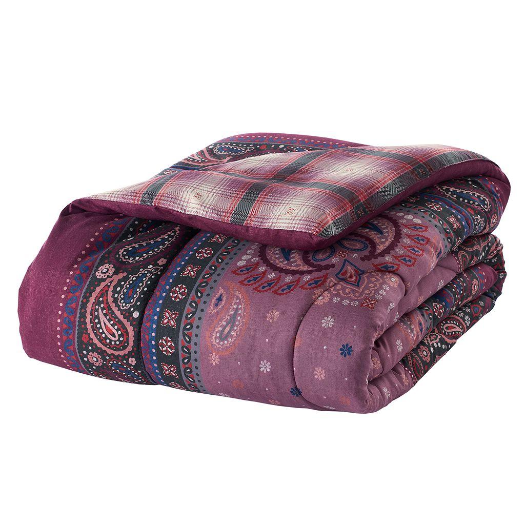 Simple By Design 5-piece Prairie Grunge Twin XL Comforter Dorm Kit