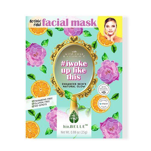 bioBELLE I Woke Up Like This Natural Glow Facial Sheet Mask