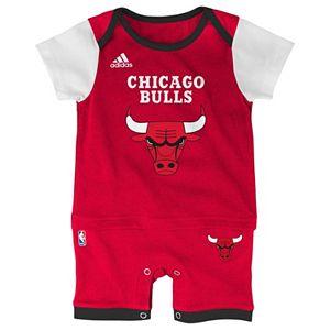 Baby adidas Chicago Bulls Fan Jersey Bodysuit