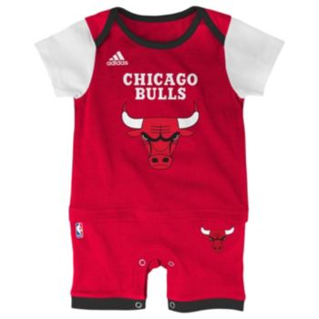 Baby adidas Chicago Bulls Fan Jersey Bodysuit
