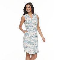 Women's Apt. 9® Zipper Accent Shirtdress