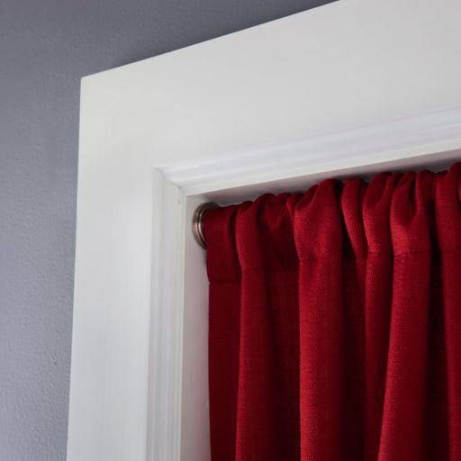 eclipse Room Darkening Adjustable Tension Curtain Rod - 28'' - 60''