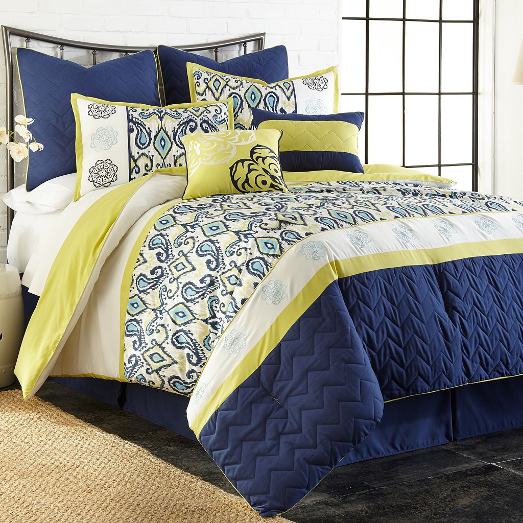 Lyla 8-piece Comforter Set