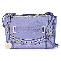 Jennifer Lopez Hailey Grommet Crossbody Bag